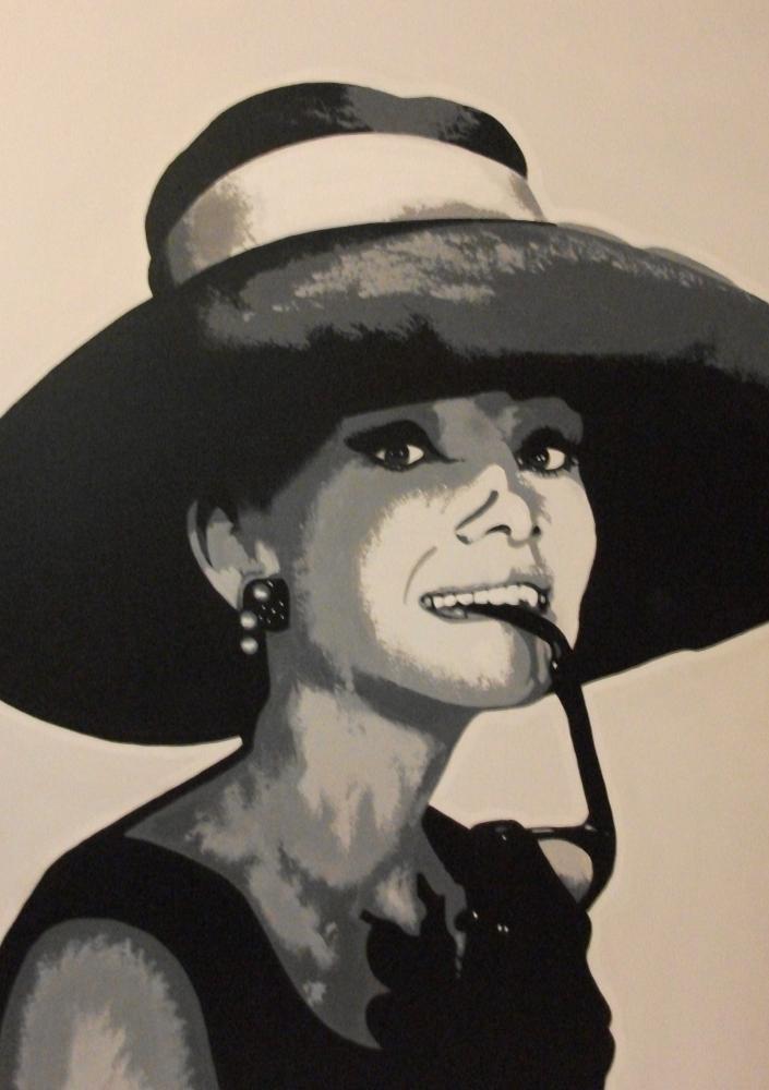 Audrey Hepburn par smiffychap